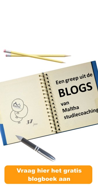 Blogboek Maltha studiecoaching